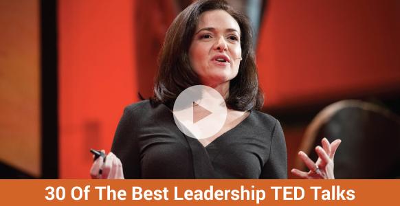 30 Of The Best TED Talks On Leadership